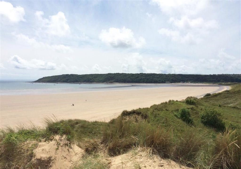 Oxwich Bay Beach